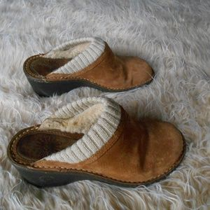 UGG Clogs size 7 Suede